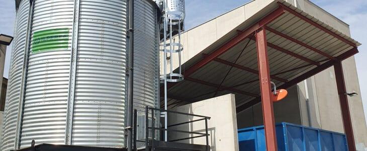 erbia puesta en marcha silo