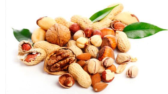 combustible frutos secos