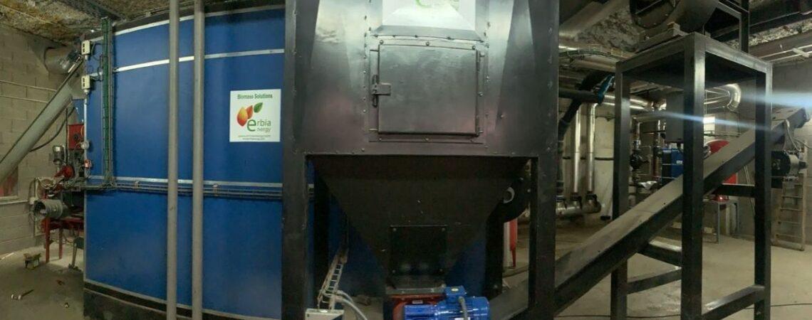 mantenimineto y mejora planta de biomasa